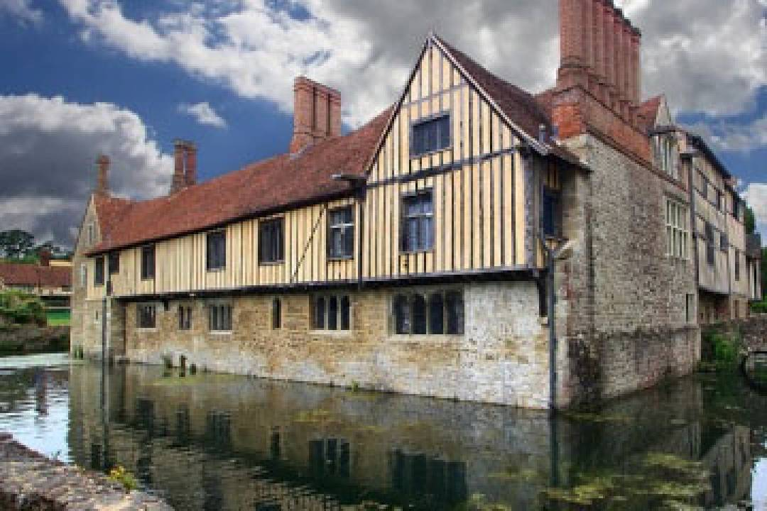 A superb 14th century moated manor house